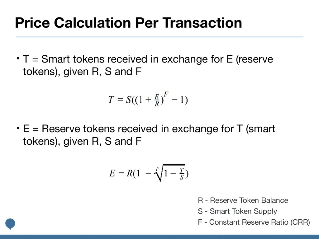Price Calculation Per Transaction • T = Smart t...