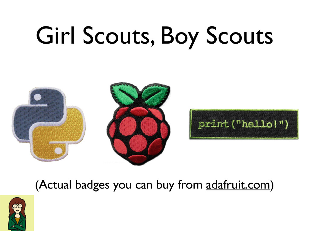 Girl Scouts, Boy Scouts (Actual badges you can ...