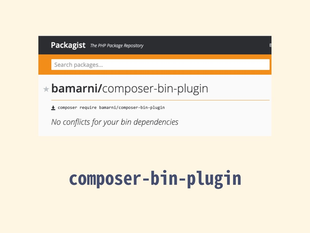composer-bin-plugin