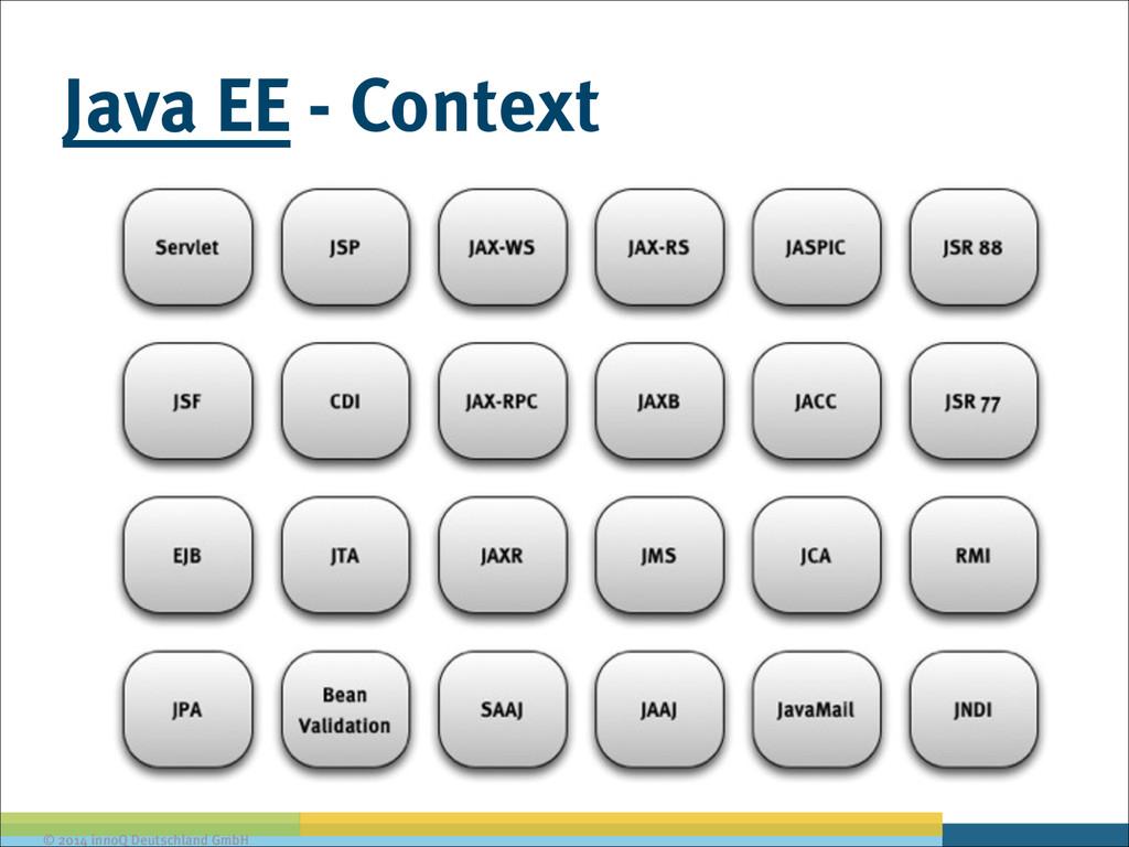 © 2014 innoQ Deutschland GmbH Java EE - Context