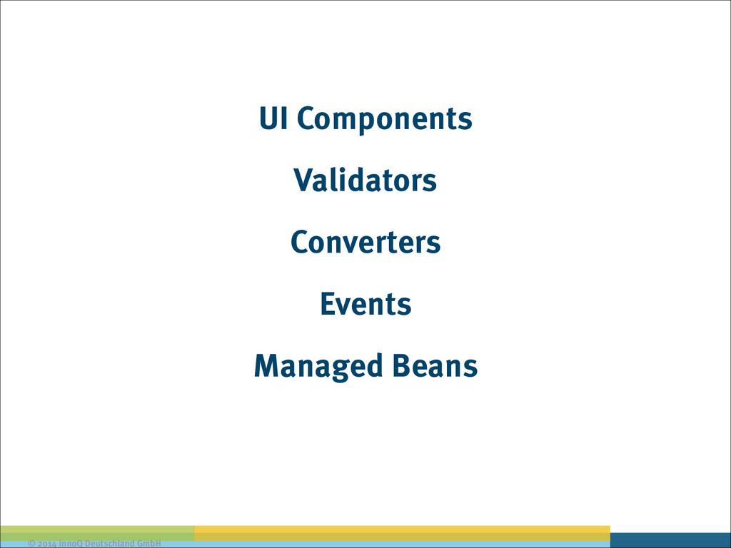 © 2014 innoQ Deutschland GmbH UI Components Val...