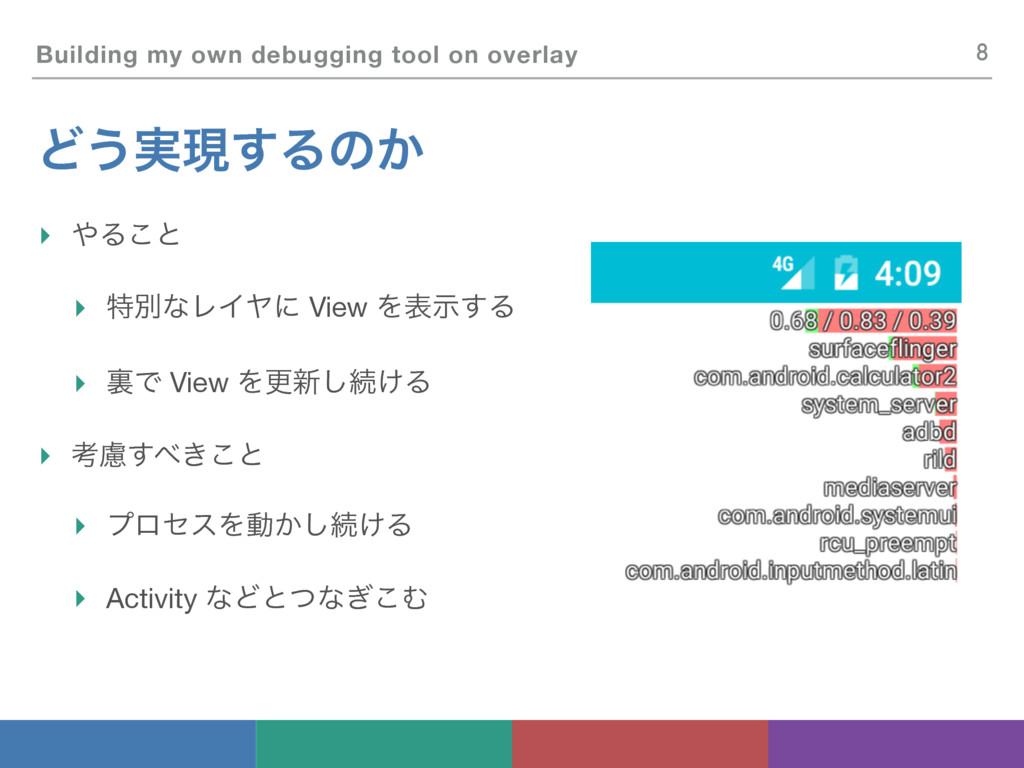 Building my own debugging tool on overlay Ͳ͏࣮ݱ͢...