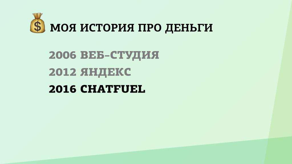 МОЯ ИСТОРИЯ ПРО ДЕНЬГИ 2006 ВЕБ–СТУДИЯ 2012 ЯН...