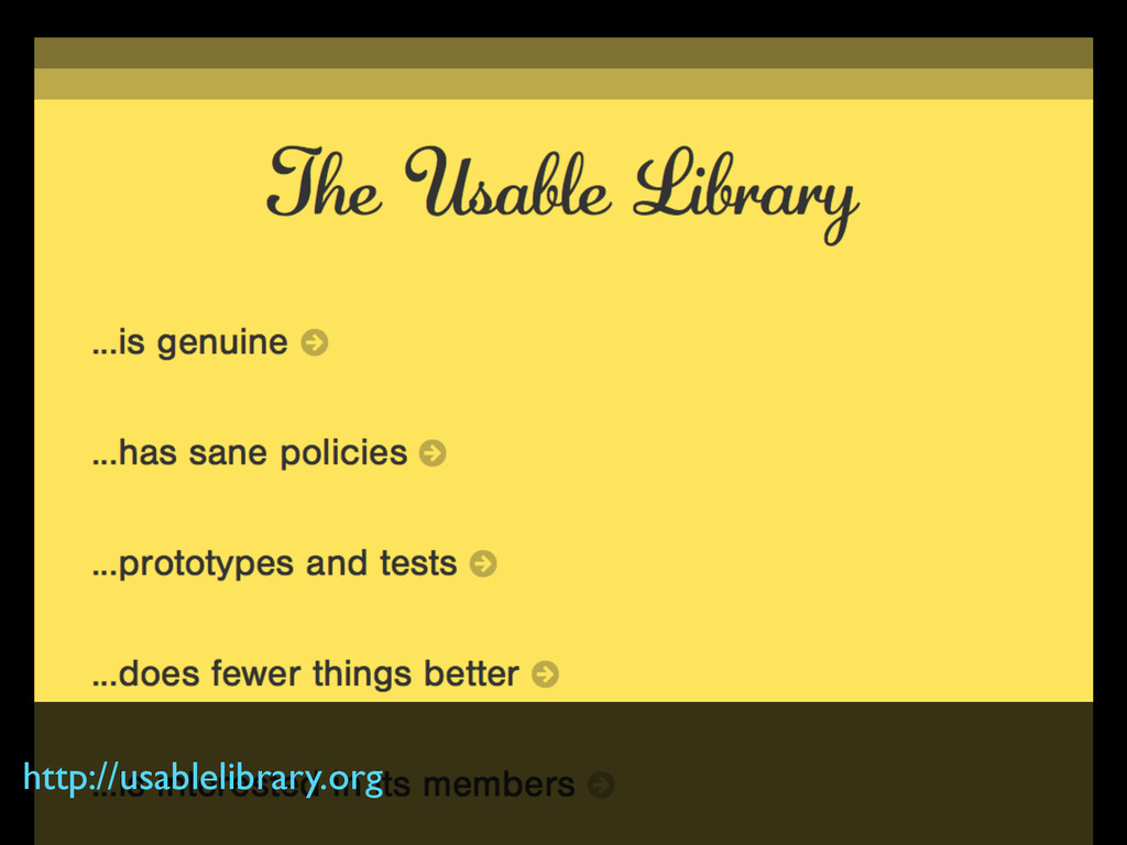 http://usablelibrary.org