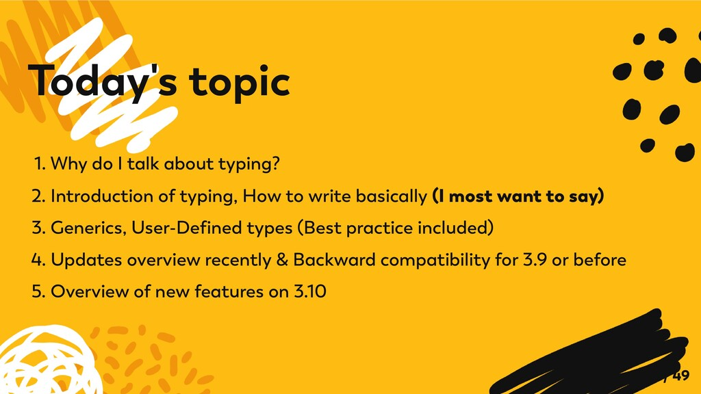 1. Why do I talk about typing? 2. Introduction ...