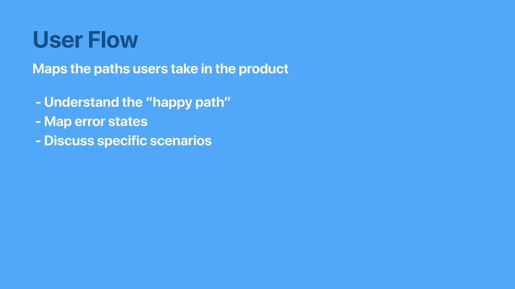 Maps the paths users take in the product User F...