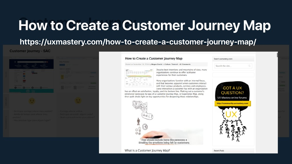Customer Journey • Segue unicamente o comportam...