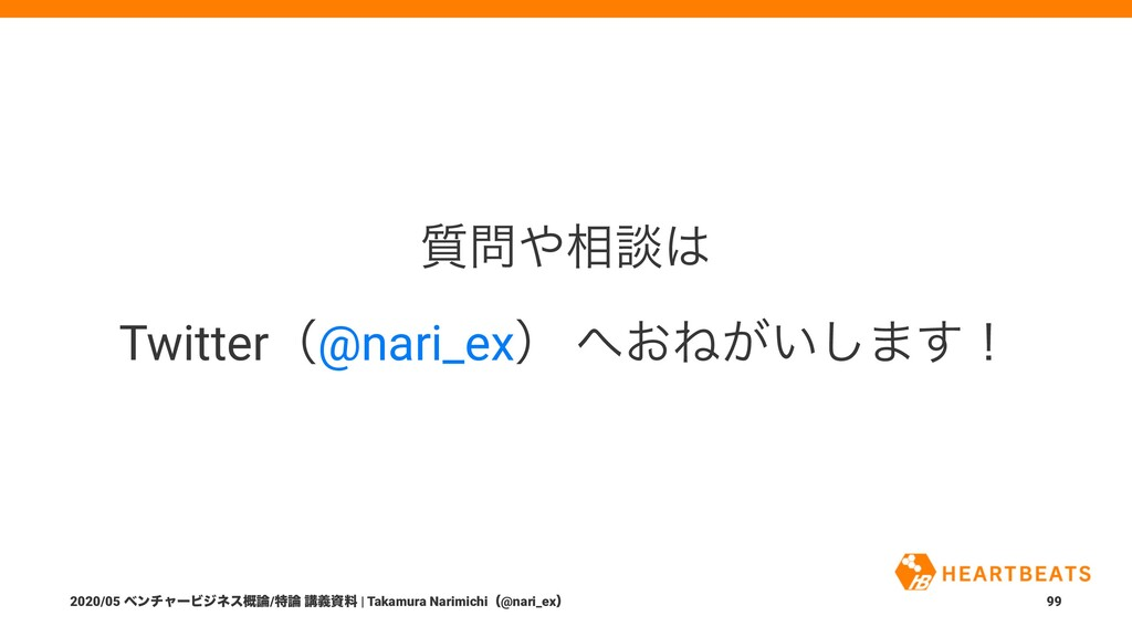 ࣭૬ஊ Twitterʢ@nari_exʣ ͓Ͷ͕͍͠·͢ʂ 2020/05 ϕϯνϟ...