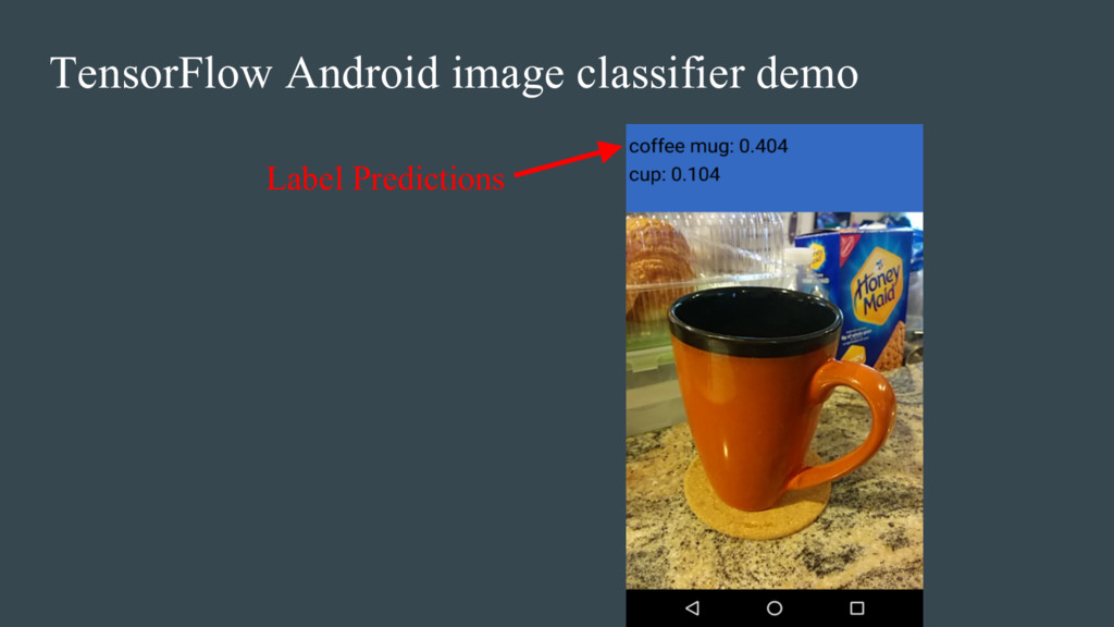 Label Predictions TensorFlow Android image clas...