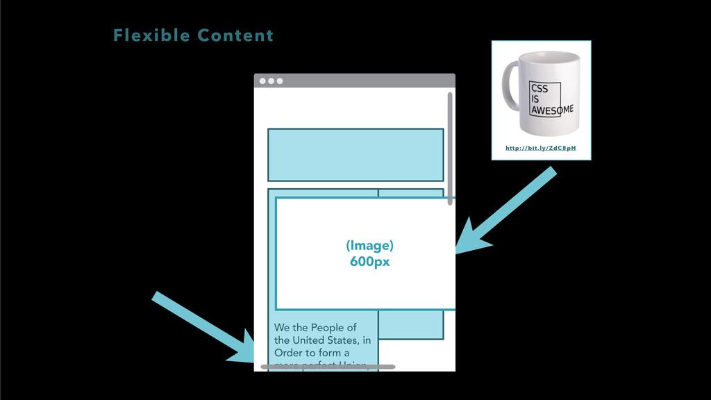 Flexible Content http://bit.ly/ZdC8pH We the Pe...