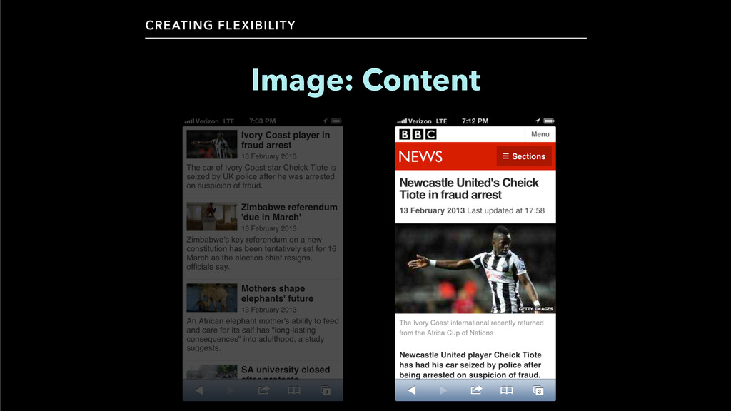 CREATING FLEXIBILITY Image: Content