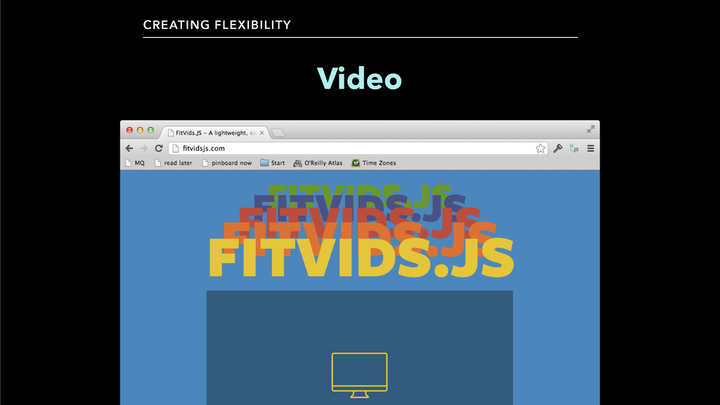 CREATING FLEXIBILITY Video