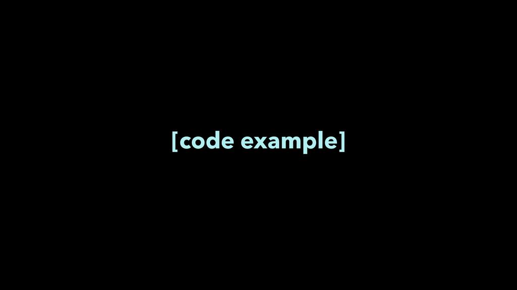 [code example]