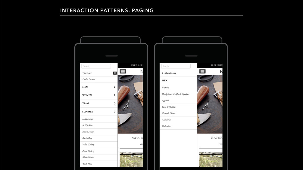 INTERACTION PATTERNS: PAGING