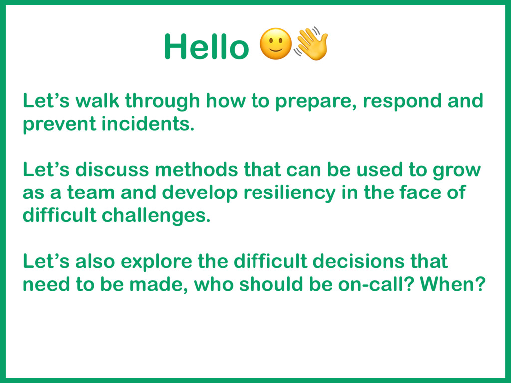 Let's walk through how to prepare, respond and ...