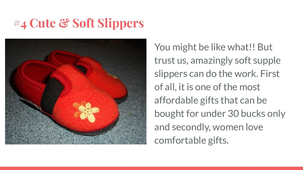 #4 Cute & Soft Slippers You might be like what!...