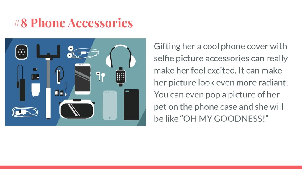 #8 Phone Accessories Gifting her a cool phone c...