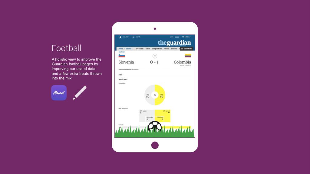 Football A holistic view to improve the Guardia...