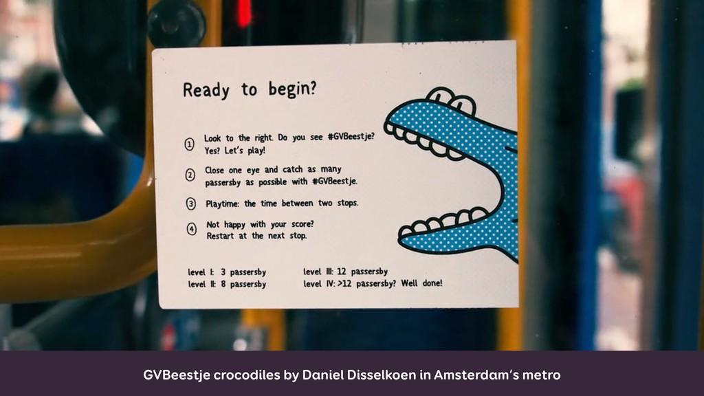 GVBeestje crocodiles by Daniel Disselkoen in Am...