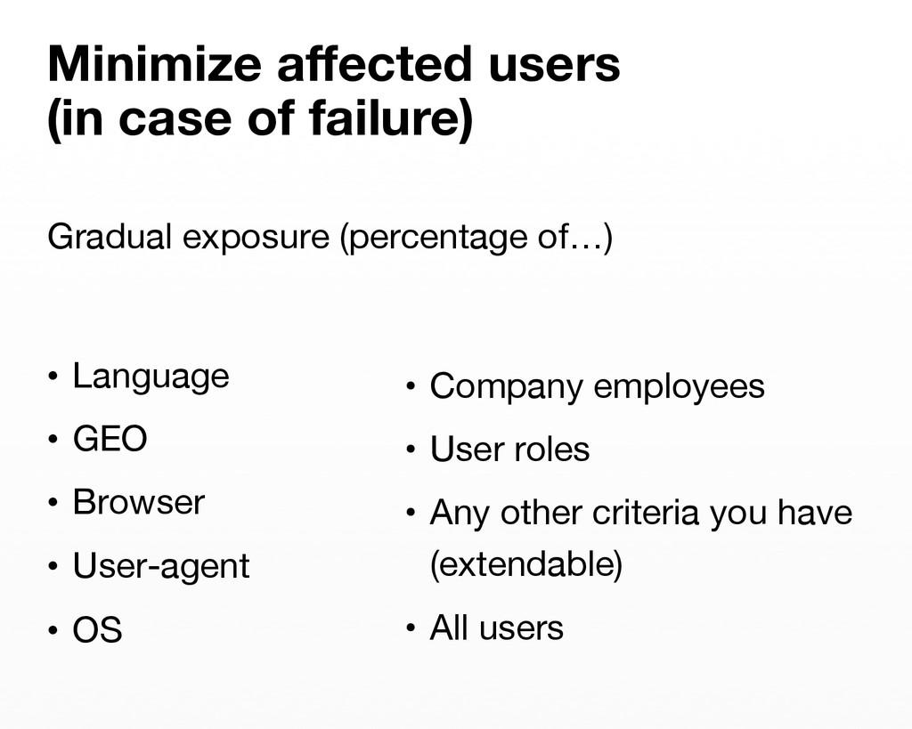 • Language  • GEO • Browser  • User-agen...