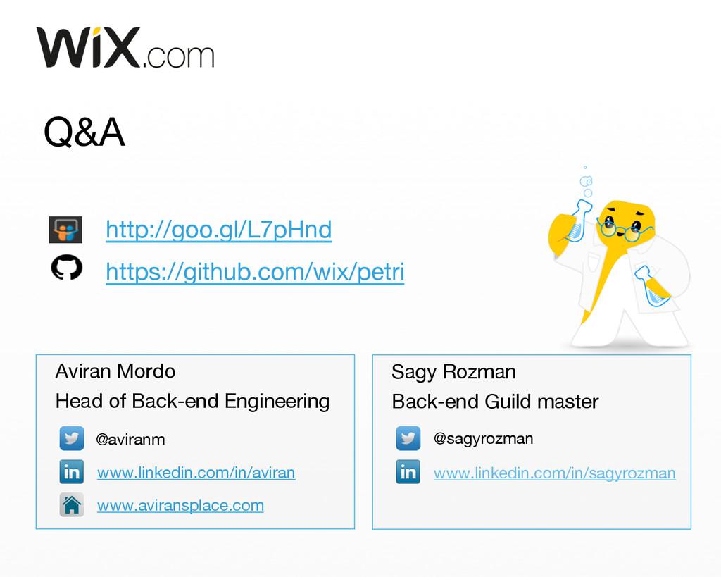 Q&A Aviran Mordo Head of Back-end Engineering...