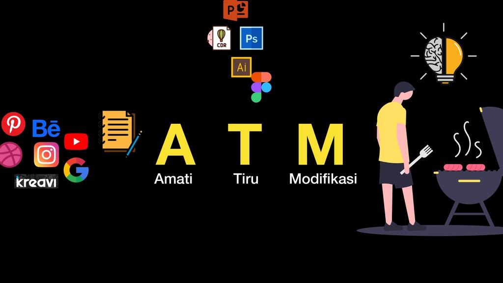 A T M Amati Tiru Modifikasi