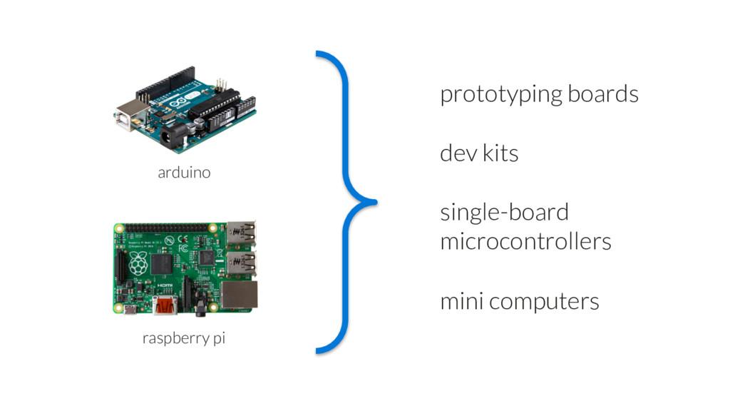 arduino raspberry pi single-board microcontroll...