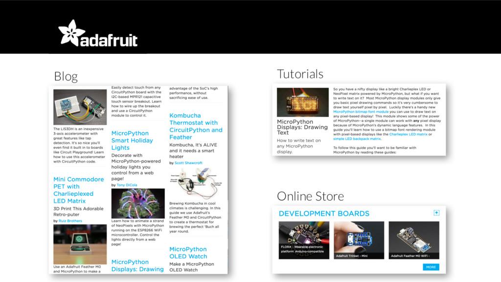 Online Store Tutorials Blog