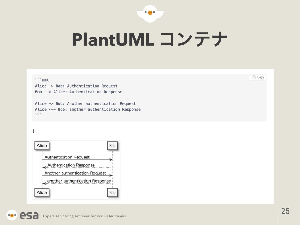 PlantUML ίϯςφ 25
