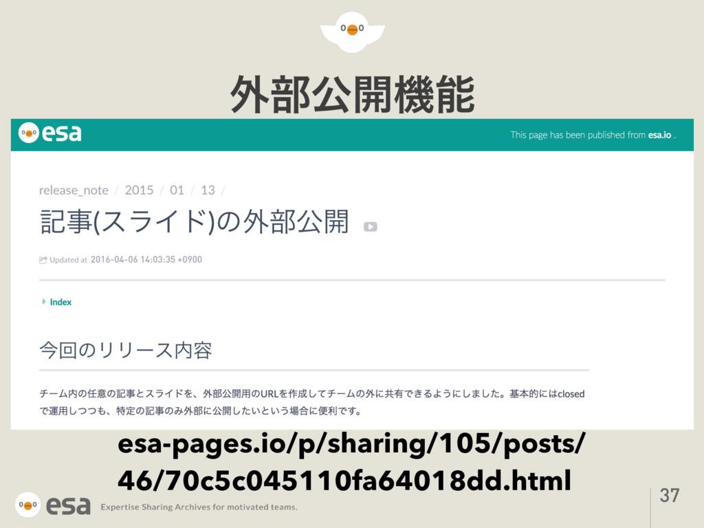 ֎෦ެ։ػ 37 esa-pages.io/p/sharing/105/posts/ 46/...