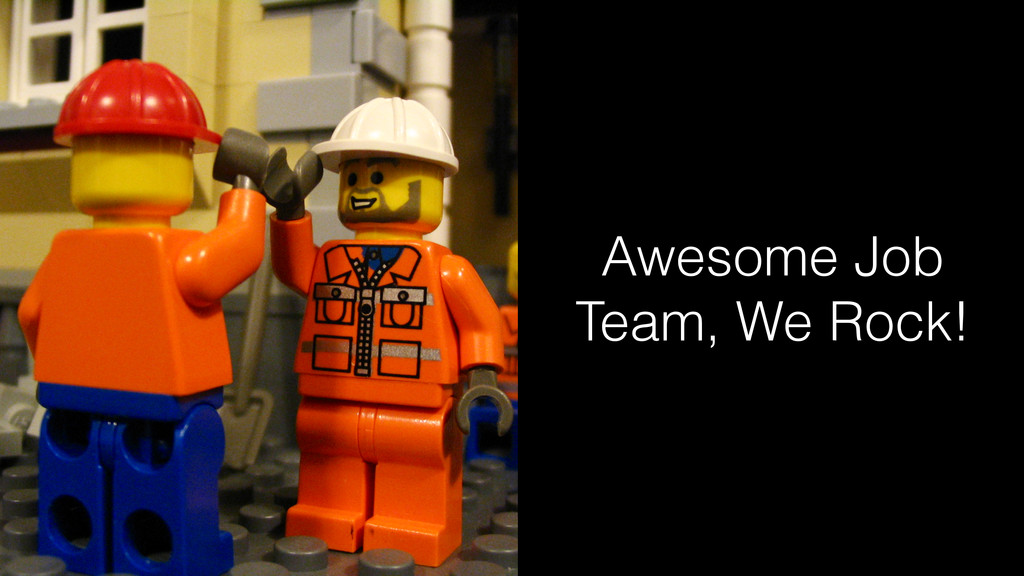 Awesome Job Team, We Rock!