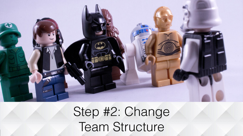 Step #2: Change Team Structure