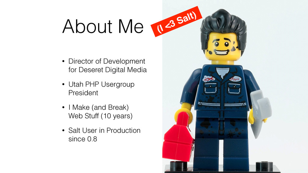 About Me • Director of Development for Deseret...