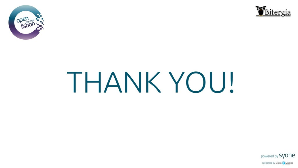 Put you logo above this THANK YOU!