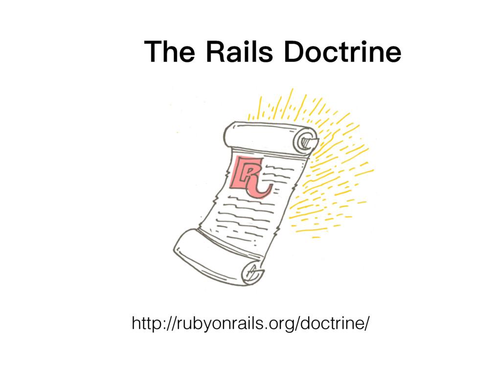 http://rubyonrails.org/doctrine/ 7KH5DLOV'RFW...