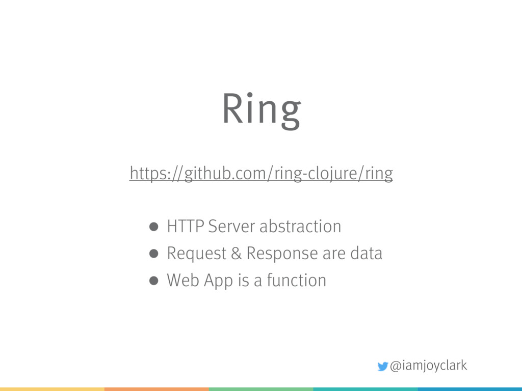 @iamjoyclark Ring https://github.com/ring-cloju...