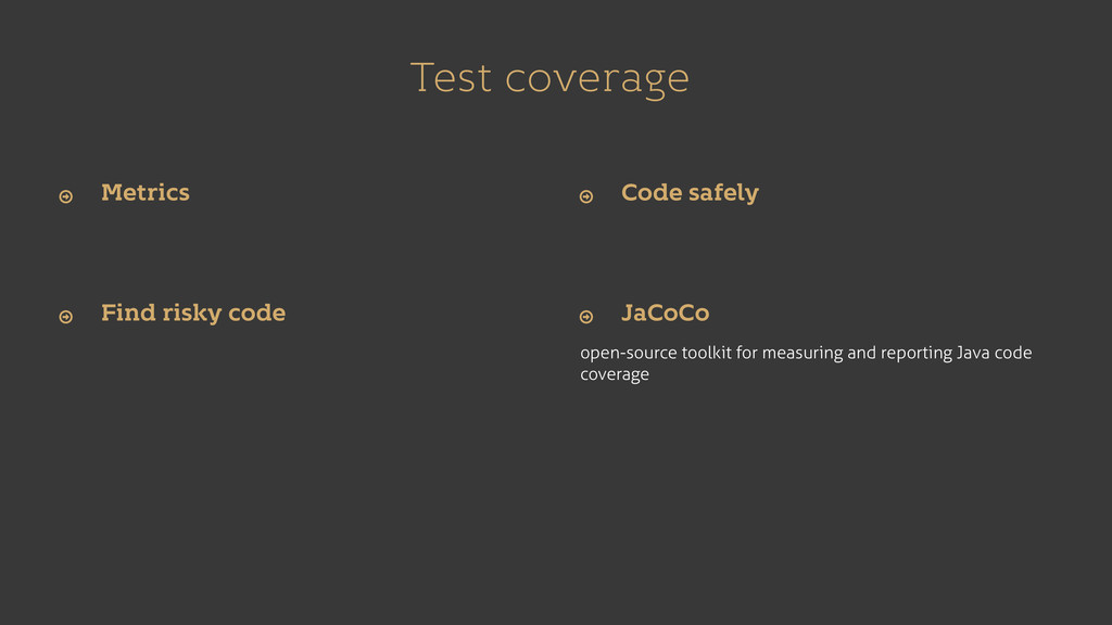 Test coverage open-source toolkit for measuring...