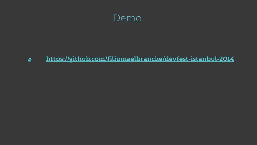 Demo https://github.com/filipmaelbrancke/devfes...