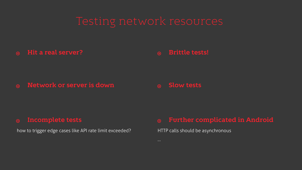 Testing network resources how to trigger edge c...