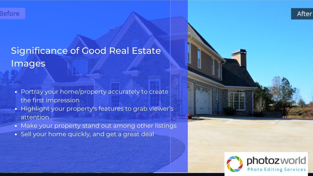 Significance of Good Real Estate Images Portray...