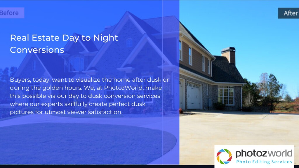 Real Estate Day to Night Conversions Buyers, to...