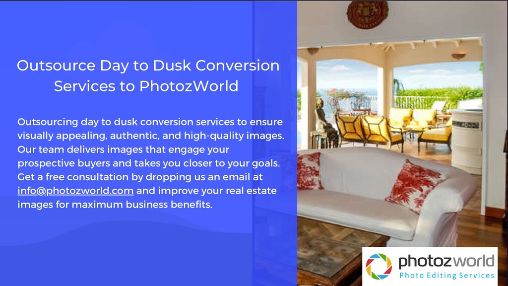 Outsourcing day to dusk conversion services to ...