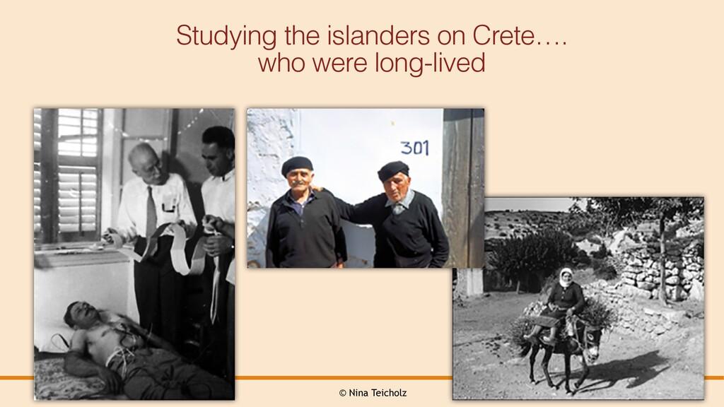© Nina Teicholz Studying the islanders on Crete...