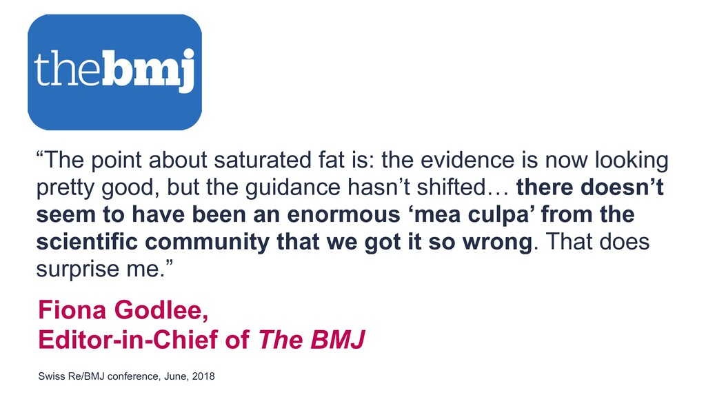"""Fiona Godlee, Editor-in-Chief of The BMJ """"The p..."""