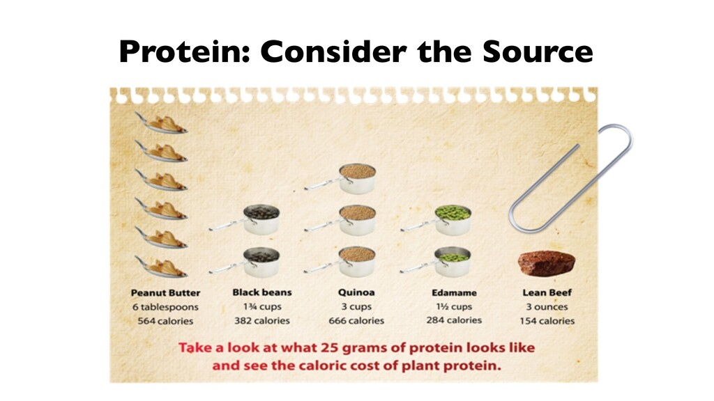 Protein: Consider the Source