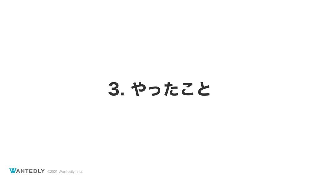 ©2021 Wantedly, Inc. ͬͨ͜ͱ