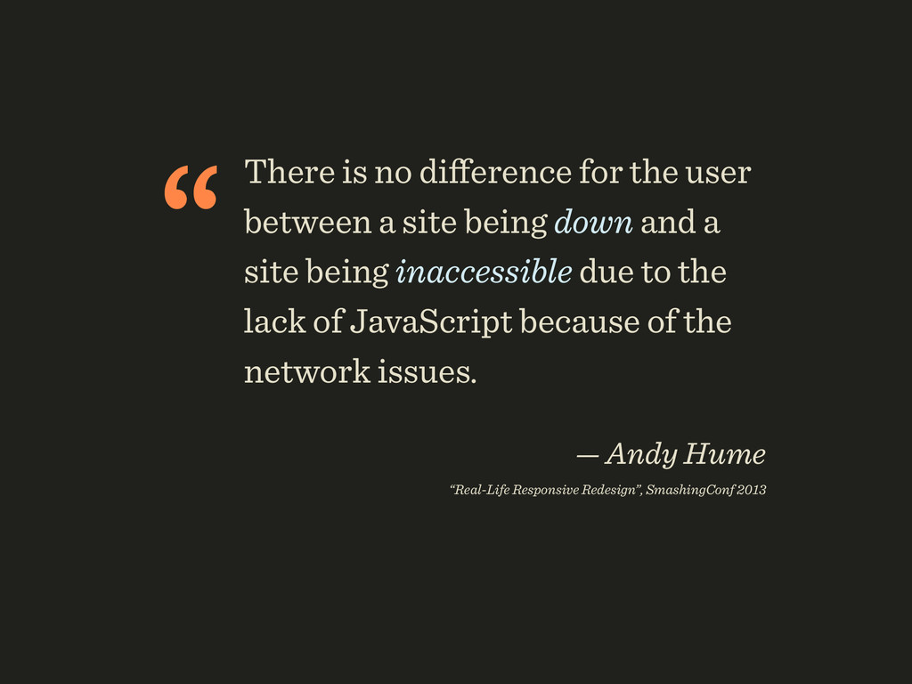"""There is no difference for the user between a s..."