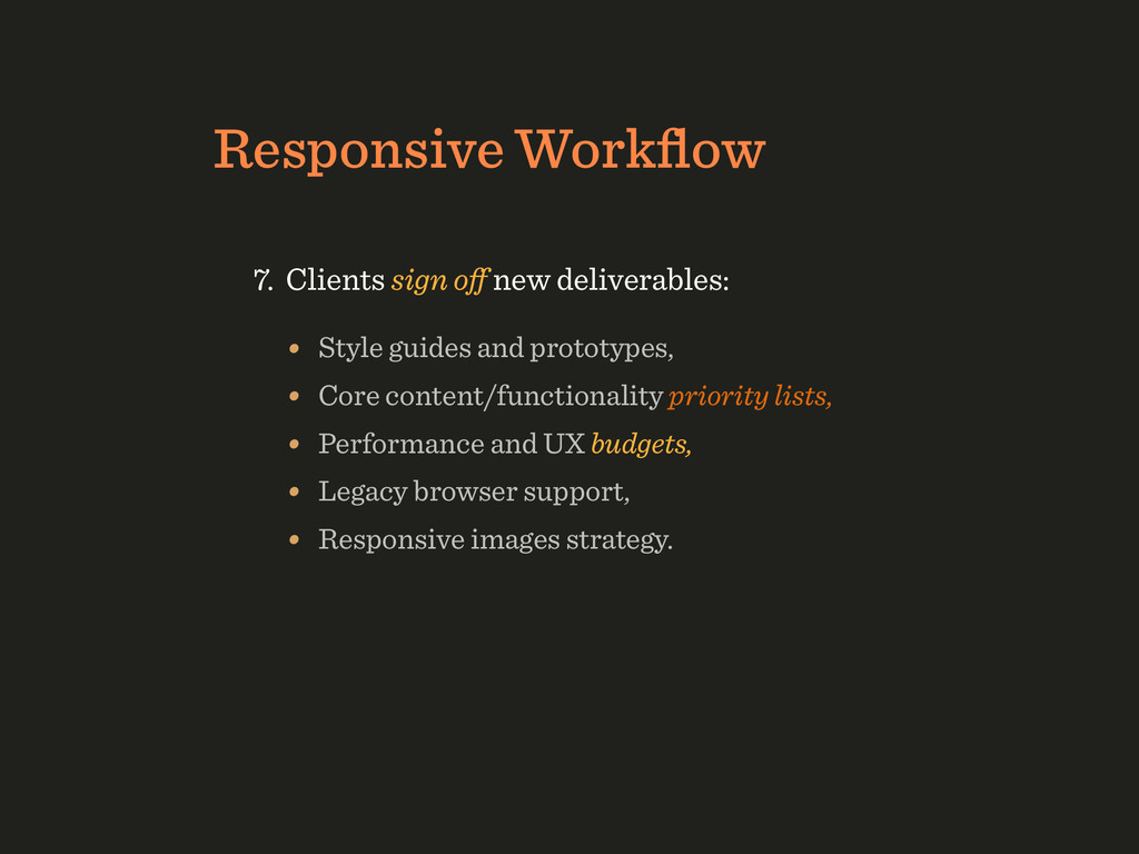 Responsive Workflow • Style guides and prototype...