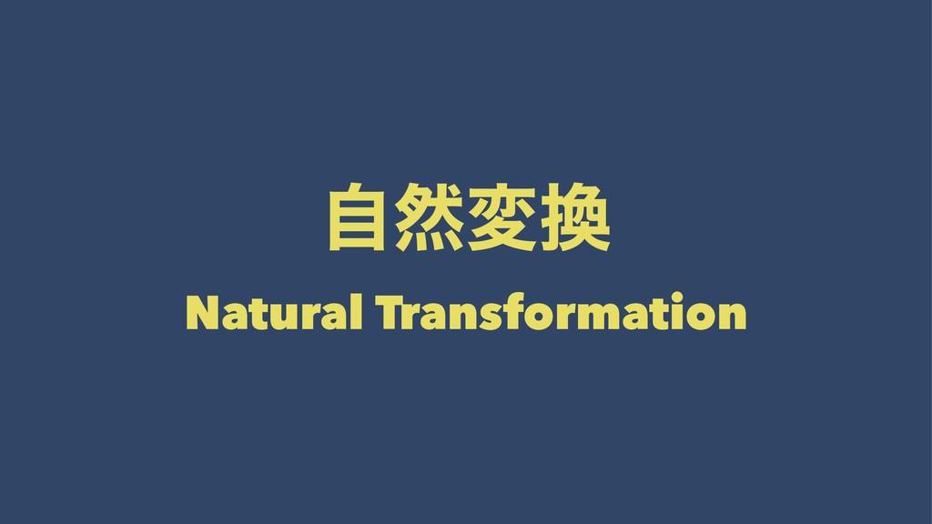 ࣗવม Natural Transformation
