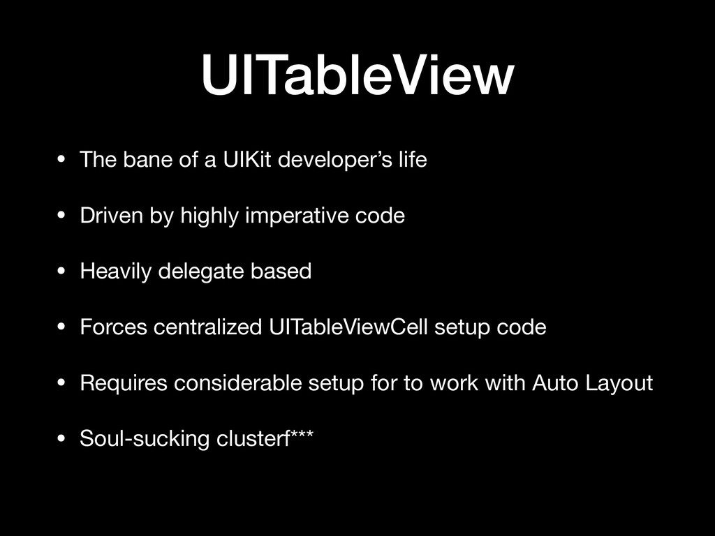 UITableView • The bane of a UIKit developer's l...